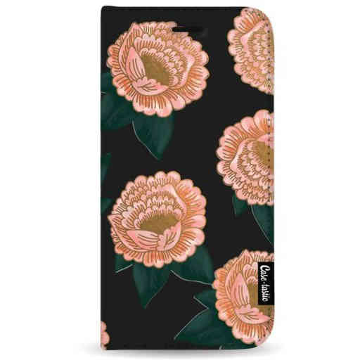 Casetastic Wallet Case Black Samsung Galaxy A7 (2018) - Winterly Flowers