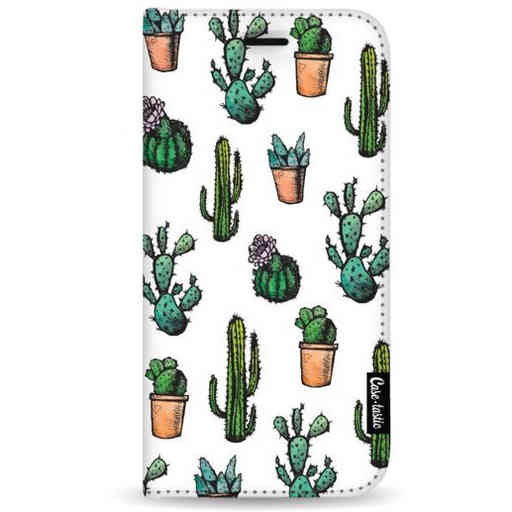 Casetastic Wallet Case White Samsung Galaxy A7 (2018) - Cactus Dream