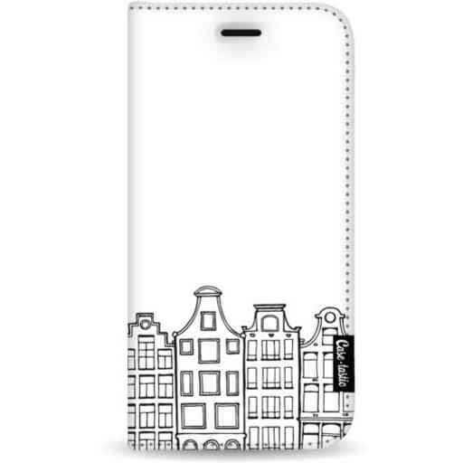 Casetastic Wallet Case White Samsung Galaxy A7 (2018) - Amsterdam Canal Houses