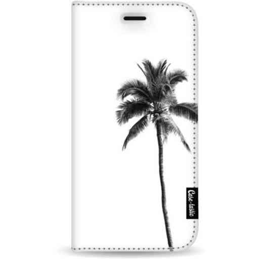 Casetastic Wallet Case White Samsung Galaxy A7 (2018) - Palm Tree Transparent