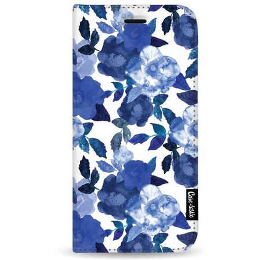 Casetastic Wallet Case White Samsung Galaxy A7 (2018) - Royal Flowers