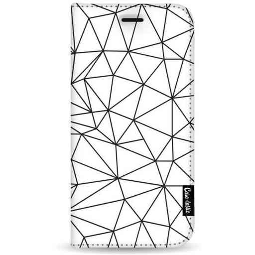 Casetastic Wallet Case White Samsung Galaxy A7 (2018) - So Many Lines! Black