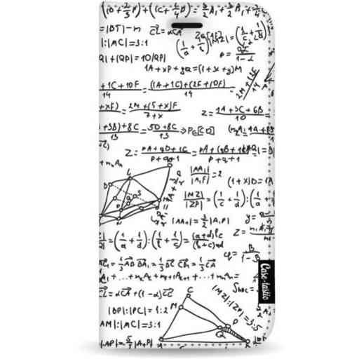 Casetastic Wallet Case White Samsung Galaxy A7 (2018) - You Do The Math White