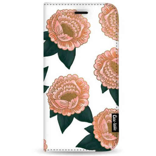 Casetastic Wallet Case White Samsung Galaxy A7 (2018) - Winterly Flowers