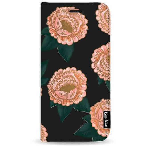 Casetastic Wallet Case Black Samsung Galaxy A9 (2018) - Winterly Flowers