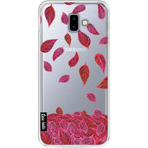 Casetastic Softcover Samsung Galaxy J6 Plus (2018) - Falling Leaves