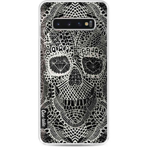 Casetastic Softcover Samsung Galaxy S10 - Lace Skull