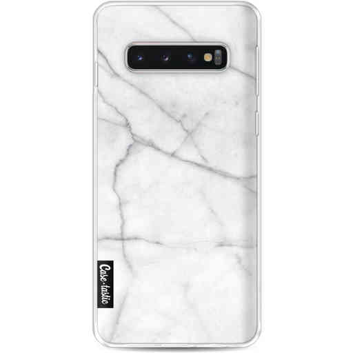 Casetastic Softcover Samsung Galaxy S10 - White Marble