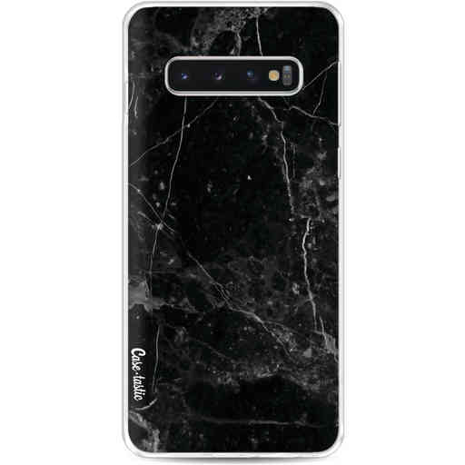 Casetastic Softcover Samsung Galaxy S10 - Black Marble