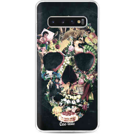 Casetastic Softcover Samsung Galaxy S10 - Vintage Skull