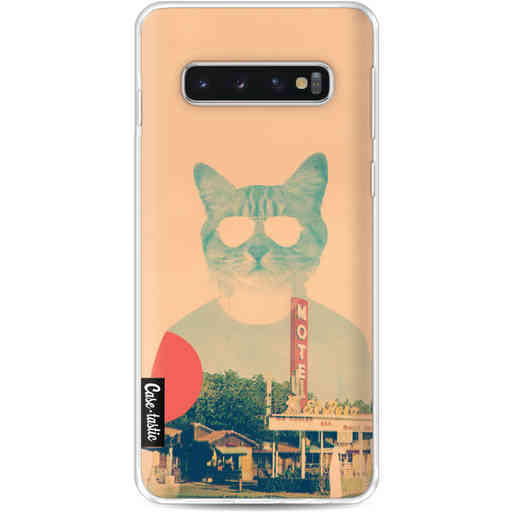 Casetastic Softcover Samsung Galaxy S10 - Cool Cat