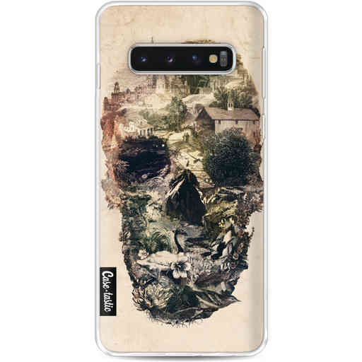 Casetastic Softcover Samsung Galaxy S10 - Skull Town