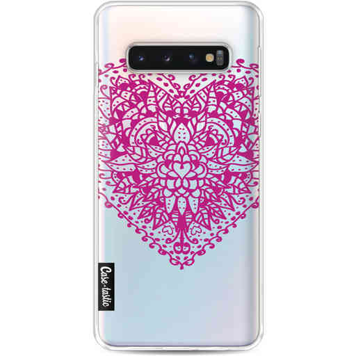 Casetastic Softcover Samsung Galaxy S10 - Doodle Heart