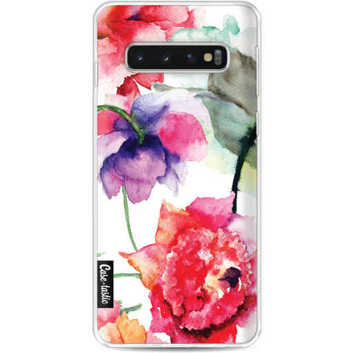 Casetastic Softcover Samsung Galaxy S10 - Watercolor Flowers