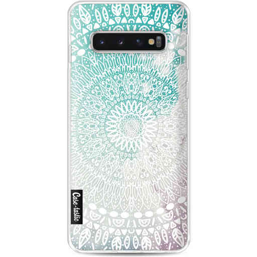 Casetastic Softcover Samsung Galaxy S10 - Rainbow Mandala