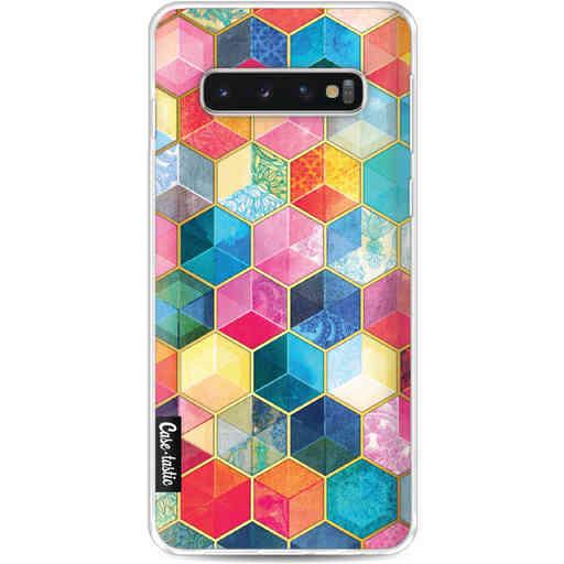 Casetastic Softcover Samsung Galaxy S10 - Bohemian Honeycomb