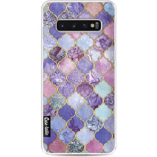 Casetastic Softcover Samsung Galaxy S10 - Purple Moroccan Tiles