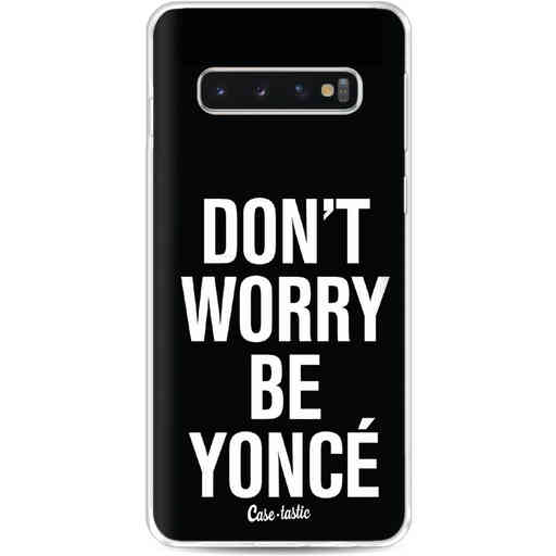Casetastic Softcover Samsung Galaxy S10 - Don't Worry Beyoncé