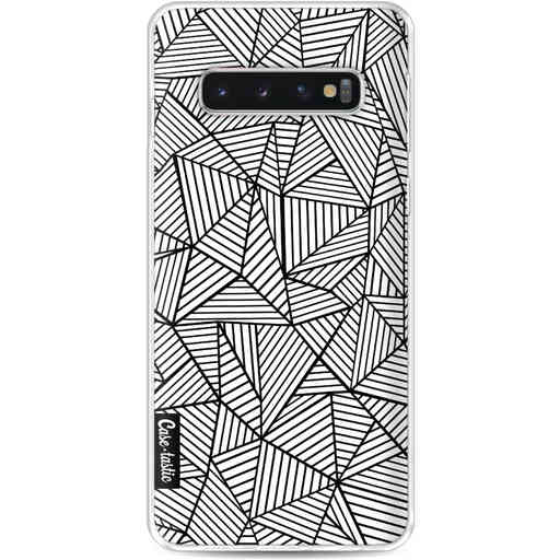 Casetastic Softcover Samsung Galaxy S10 - Abstraction Lines
