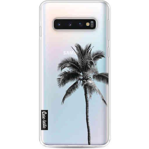 Casetastic Softcover Samsung Galaxy S10 - Palm Tree Transparent