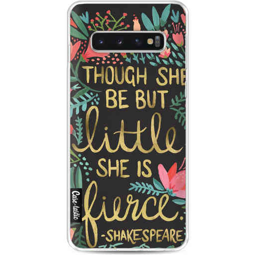 Casetastic Softcover Samsung Galaxy S10 - Little Fierce Charcoal