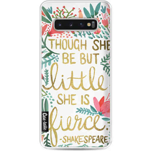 Casetastic Softcover Samsung Galaxy S10 - Little Fierce White