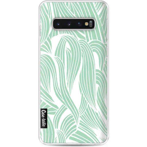 Casetastic Softcover Samsung Galaxy S10 - Seam Foam Organic Print