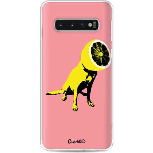 Casetastic Softcover Samsung Galaxy S10 - Lemon Dog