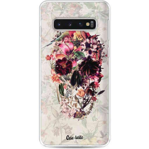 Casetastic Softcover Samsung Galaxy S10 - Flower Skull