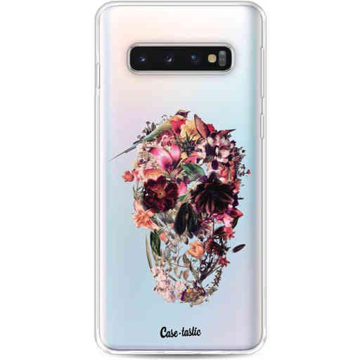 Casetastic Softcover Samsung Galaxy S10 - Transparent Skull