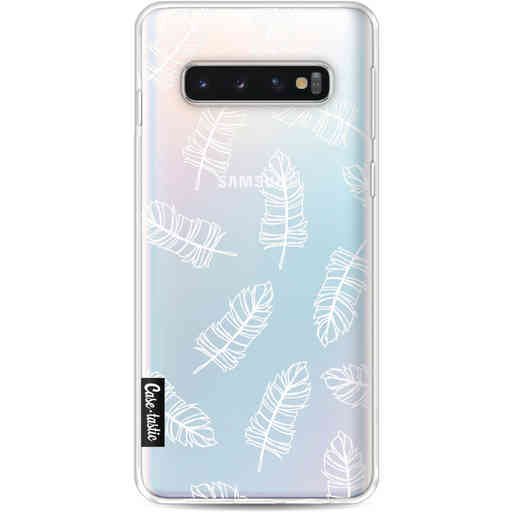 Casetastic Softcover Samsung Galaxy S10 - Feathers Outline
