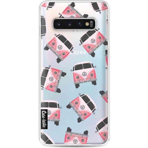 Casetastic Softcover Samsung Galaxy S10 - Little Casetastic Vans Pink
