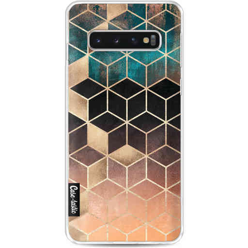 Casetastic Softcover Samsung Galaxy S10 - Ombre Dream Cubes
