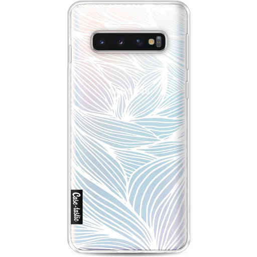 Casetastic Softcover Samsung Galaxy S10 - Wavy Outlines