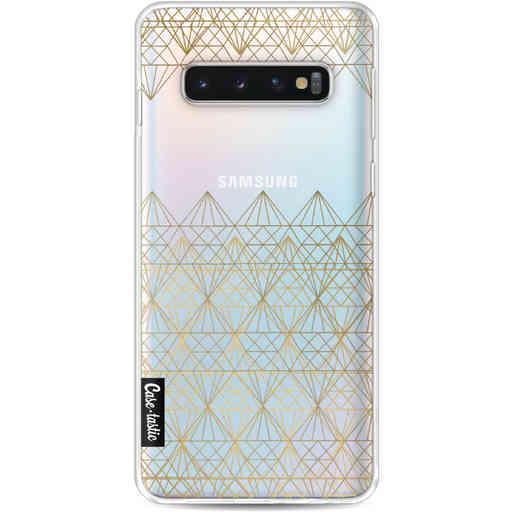 Casetastic Softcover Samsung Galaxy S10 - Golden Diamonds