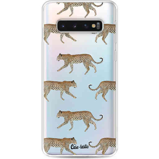 Casetastic Softcover Samsung Galaxy S10 - Hunting Leopard