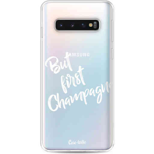Casetastic Softcover Samsung Galaxy S10 - But First Champagne