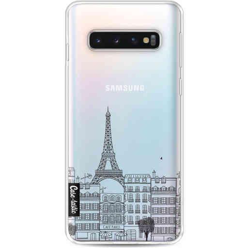 Casetastic Softcover Samsung Galaxy S10 - Paris City Houses