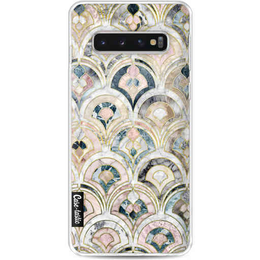 Casetastic Softcover Samsung Galaxy S10 - Art Deco Marble Tiles