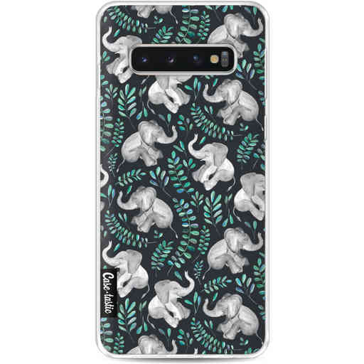 Casetastic Softcover Samsung Galaxy S10 - Laughing Baby Elephants