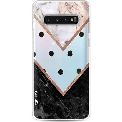 Casetastic Softcover Samsung Galaxy S10 - Mix of Marbles
