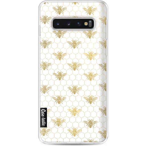 Casetastic Softcover Samsung Galaxy S10 - Golden Honey Bee