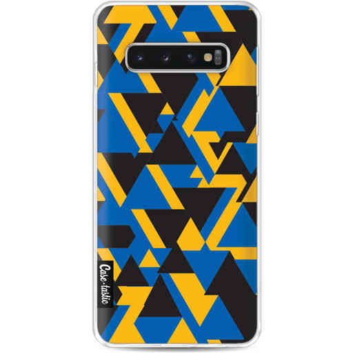 Casetastic Softcover Samsung Galaxy S10 - Mixed Triangles