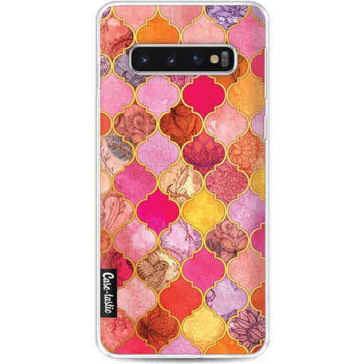 Casetastic Softcover Samsung Galaxy S10 - Pink Moroccan Tiles