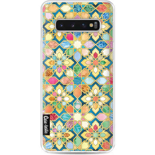Casetastic Softcover Samsung Galaxy S10 - Gilded Moroccan Mosaic Tiles