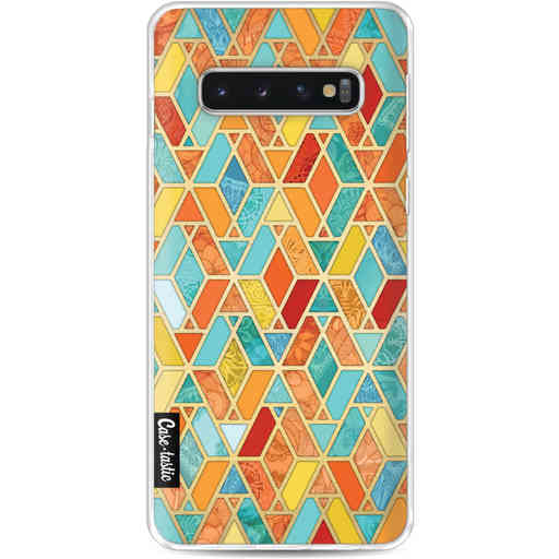 Casetastic Softcover Samsung Galaxy S10 - Geometric Tile Pattern