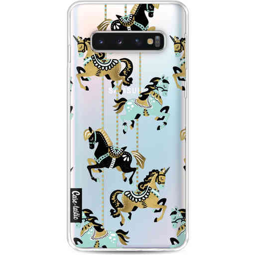 Casetastic Softcover Samsung Galaxy S10 - Carousel Horses