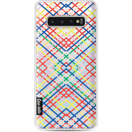 Casetastic Softcover Samsung Galaxy S10 - Weave Pattern
