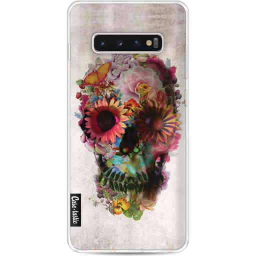 Casetastic Softcover Samsung Galaxy S10 Plus - Skull 2
