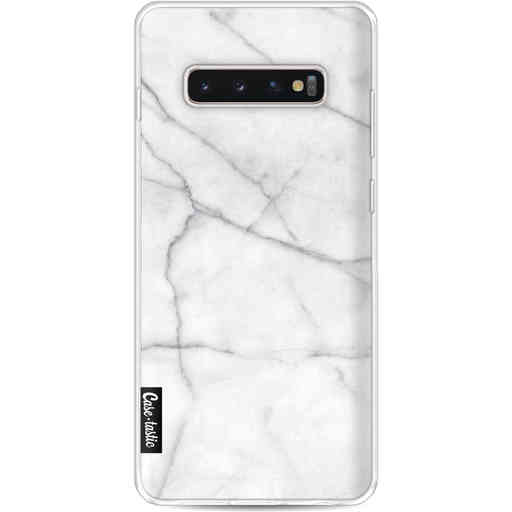Casetastic Softcover Samsung Galaxy S10 Plus - White Marble